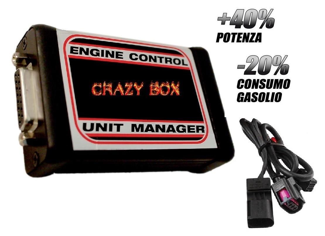 CENTRALINA AGGIUNTIVA CRAZYBOX2 FIAT DUCATO 2.2 MULTIJET 100CV