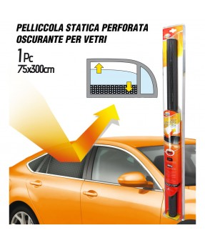 1 ROTOLO 300x75cm DI PELLICOLA OSCURANTE VETRI STATICA RIMOVIBILE