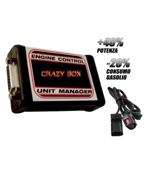 CENTRALINA AGGIUNTIVA CRAZYBOX2 AUDI A4 2.0 TDI 120CV